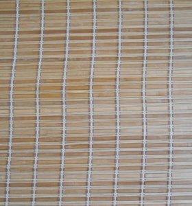Бамбуковая римская штора б/у