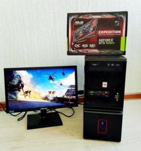 На гарантии Игровая Мощь на Core i5 и GTX1050ti