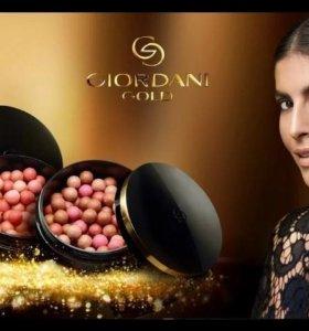 Румяна в шариках Giordani Gold(новые)