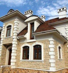 Фасадный декор для отделки откосов,карнизов, и пр.