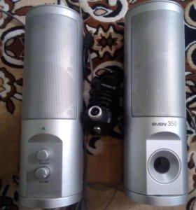 Колонки Sven350 и веб камера