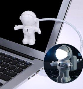 🔴 USB лампа для Ноутбука/Авто/Power Астронавт