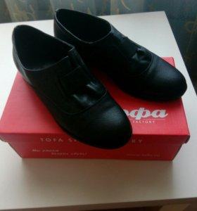 Новые туфли женские кожаные