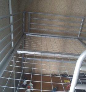Кровать-чердак 2-х спальная