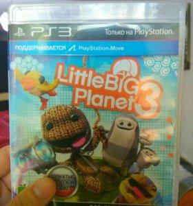 Игра на ps3 Little big planet 3