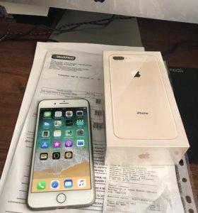 Apple iPhone 8 Plus Gold новый РосТест