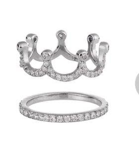 Кольцо-корона Wanna? be! 15,5 размер