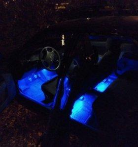 Подсветка автомобиля салон