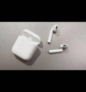 Airpods беспроводные наушники для iphone. Торг😉