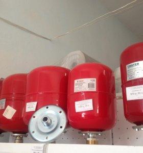 Бак расширительный мембранный 6-35 л для отопления