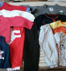 Одежда пакетом 74-80