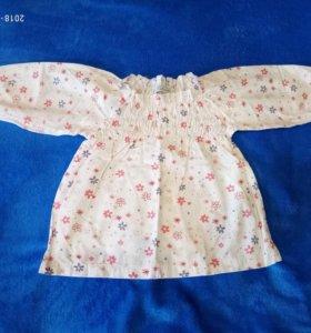 Блузочка хлопковая