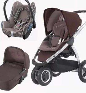 Детская коляска 3в1 Maxi-Cosi Mura Plus 3
