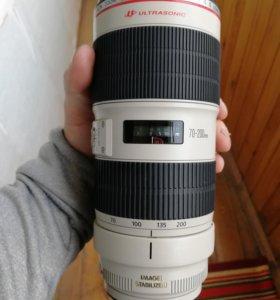 Объектив Canon 70-200mm 2.8 l is II USM