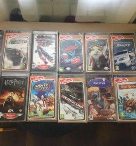 Диски (игры) на PSP
