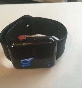 Apple Watch Series 3 42mm (GPS+Cellular) стальные