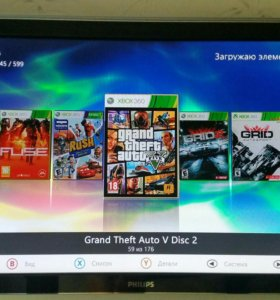 Xbox360e 1TB 170 игр