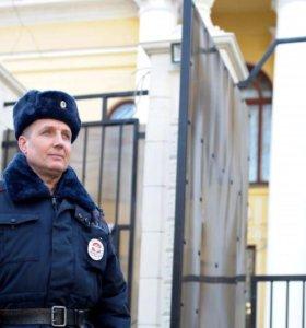 Охрана дипломатических представительств