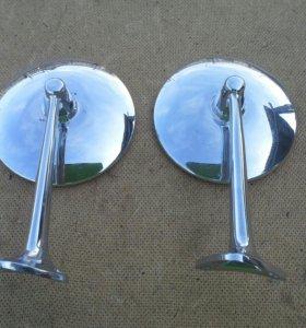 Круглые хром зеркала СССР Ваз 2101, 2102
