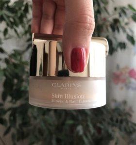 Рассыпчатая пудра Clarins skin illusion