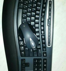 Беспроводная клава с мышью