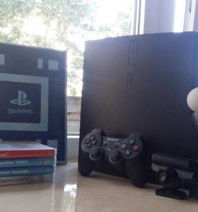 Playstation 3 Slim (+Move и игры)