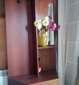 Шкаф зеркало вешелки