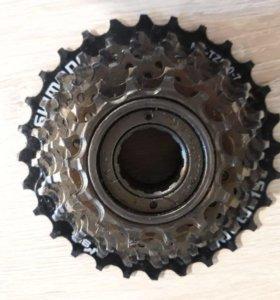 Звёзда задняя на велосипед 7 скоростей.