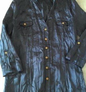 Блуза-рубашка бесплатно