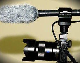 Новый микрофон Sony ECM-CG50 в упаковке