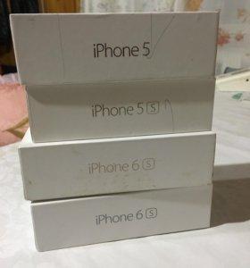 Коробки от Айфона 6s