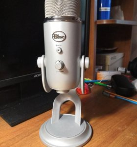микрофон Blue Yeti (Cool Grey)