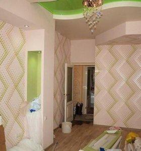 Услуги по ремонту квартир: обои, покраска, ламинат