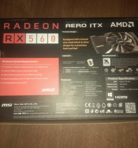 AMD Radeon RX560 OC