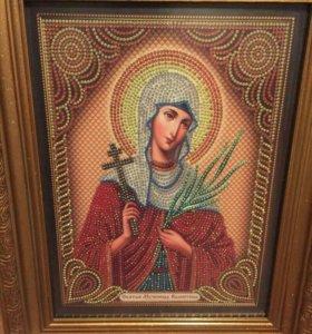 Именная икона Св мученица Валентина !