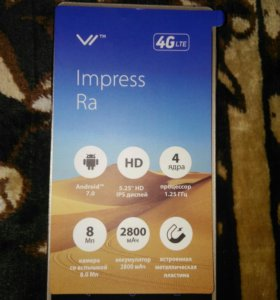 Смартфон Vertex Imprese Ra