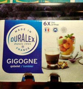 Набор стаканчиков французской фирмы Duralex