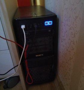 Игровой компьютер 4года+ монитор(возможен торг)