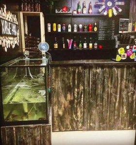 Пивной Бар. Магазин разливного пива и живых раков