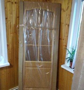Новая межкомнатная дверь 80х200 с коробкой