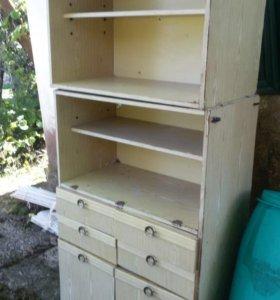 Стеллаж шкаф