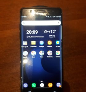 Samsung note fe.