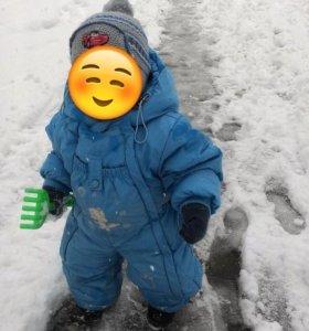 Комбинезон весн/зима с рождения