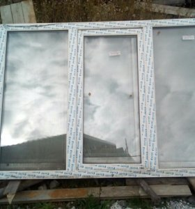 Продам 4 окна
