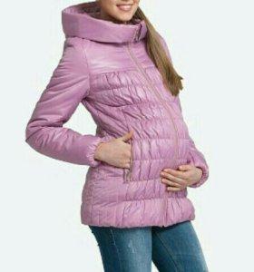 Куртка для беременных, демисезонная.