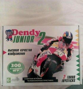 Денди джуниор 2+300игр