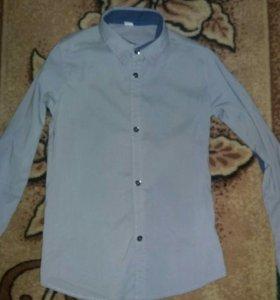 Рубашки на мальчика 9-10лет