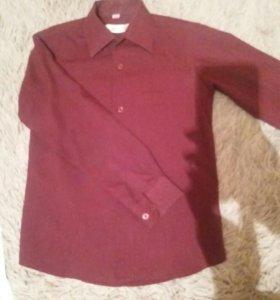 Рубашка на мальчика 9-10лет и брюки