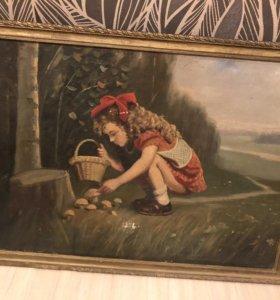Картина на холсте маслом