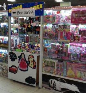 Готовый бизнес павильон игрушек